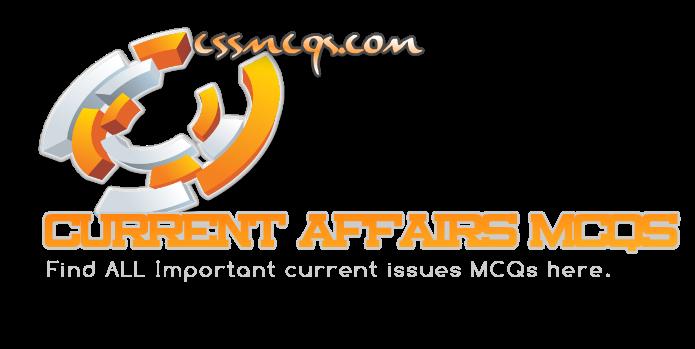 Current Affairs MCQs