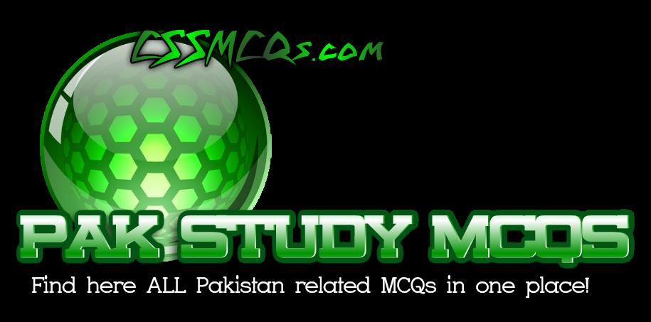 Pak Study MCQs CSSMCQs